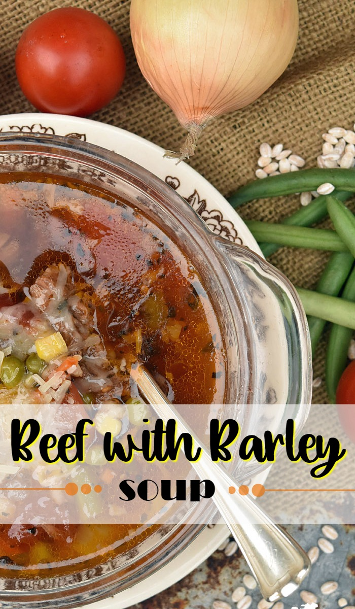 Beef with Barley Soup