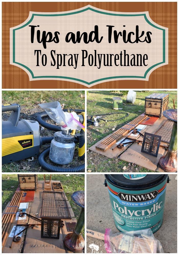 Spray Poly tips and tricks Pin