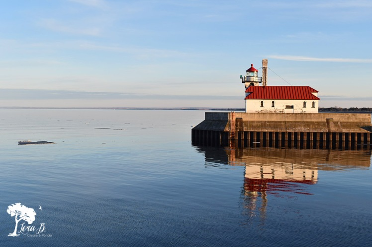 Lighthouse in Canal Park, Duluth MN.