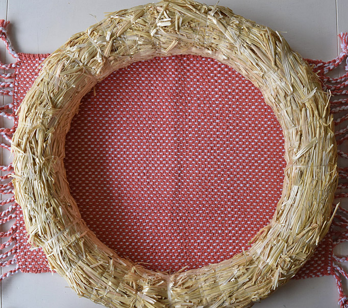 straw wreath form