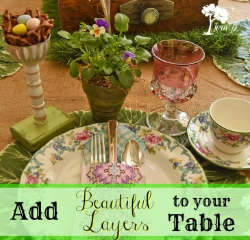 Add Beautiful Layers to your table Pin