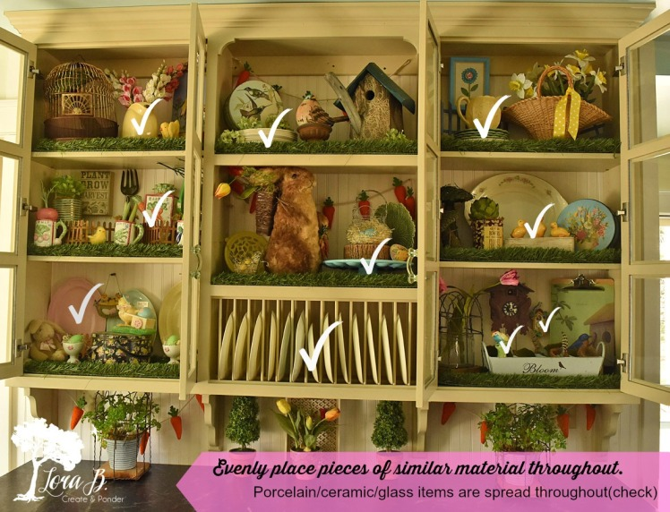 kitchen cupboard with glassware