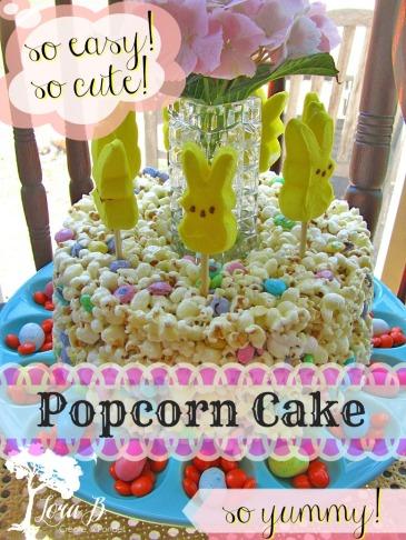 Popcorn Cake Pin