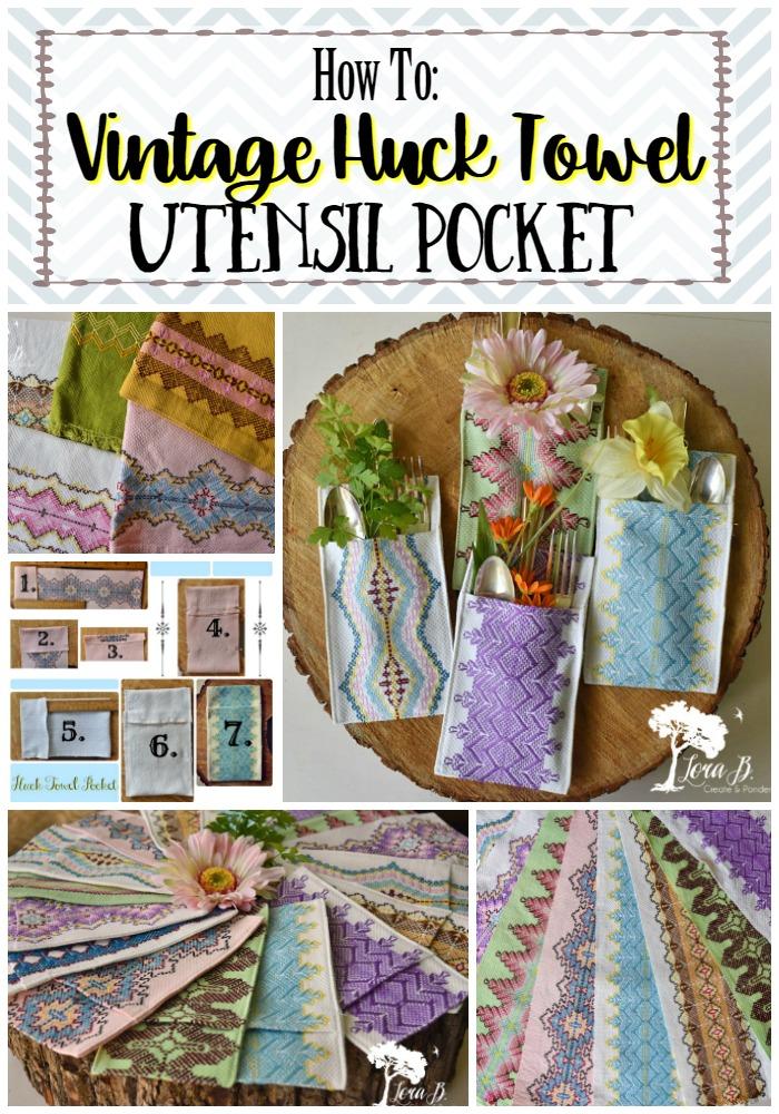 Vintage Swedish Huck Towels
