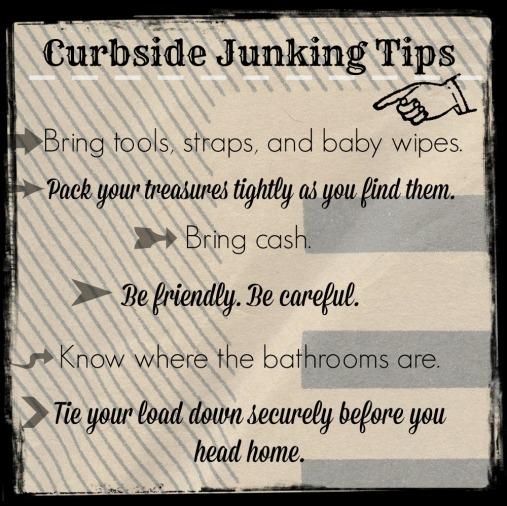 CurbsideJunkinTips