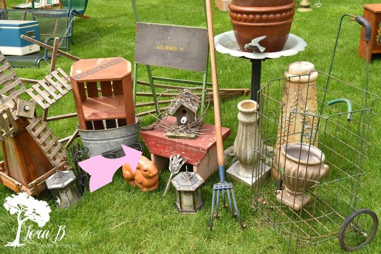Curbside garden finds