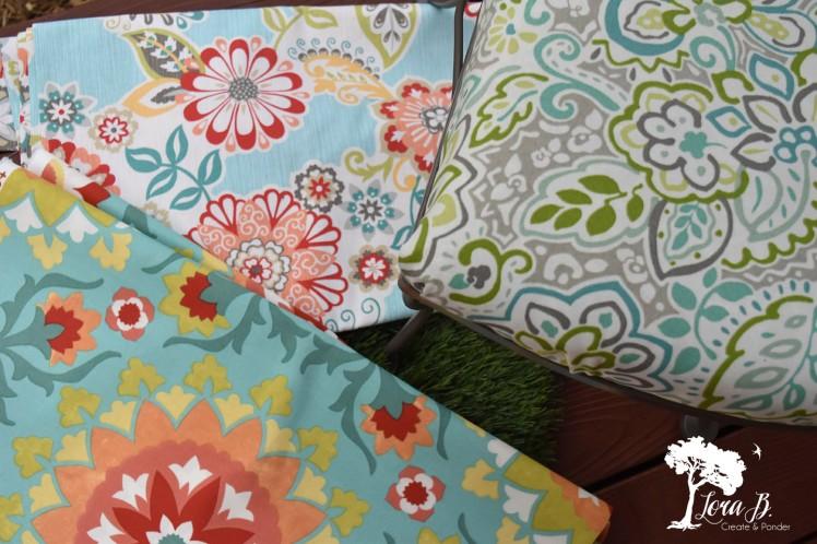 Summertime fabrics.
