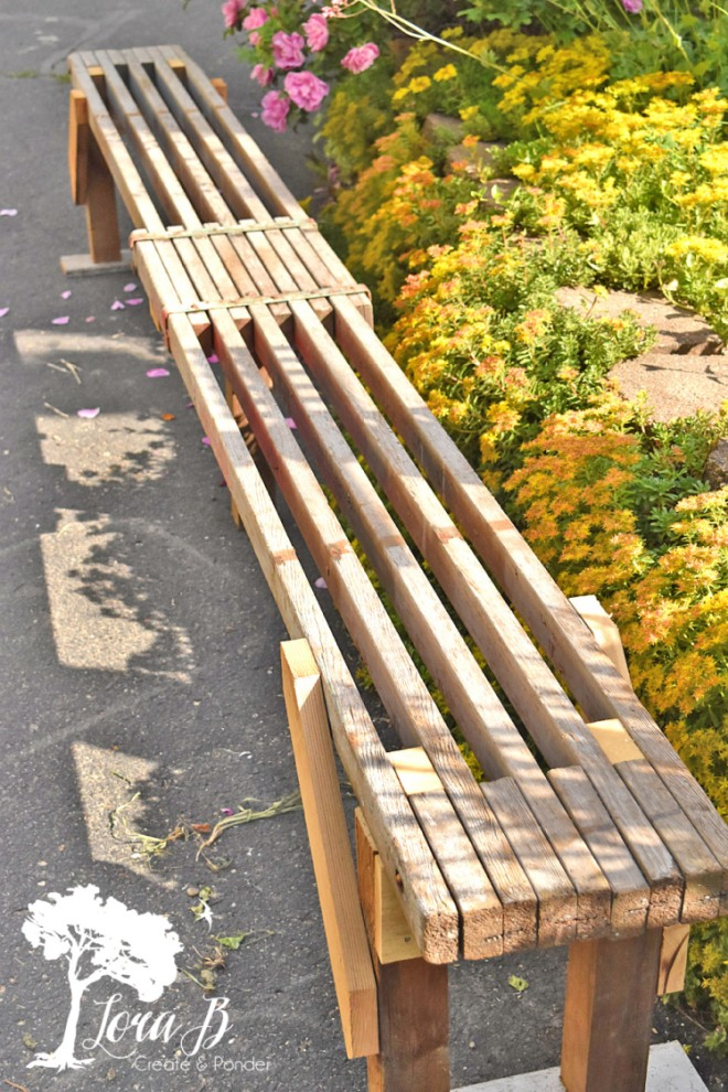scaffoling bench