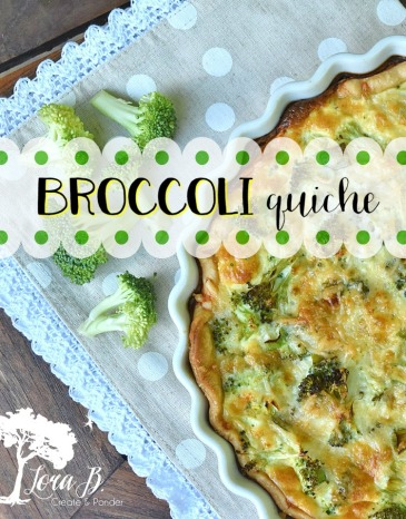Broccoli quiche