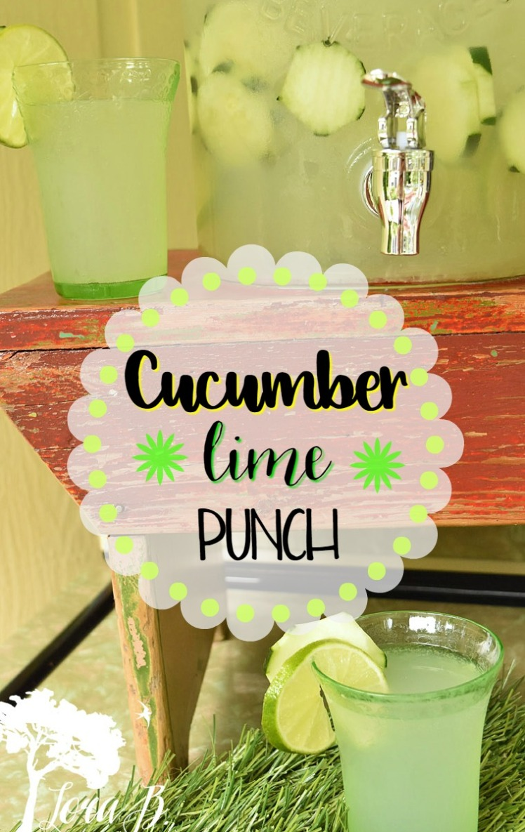 Cucumber Lime Punch pin
