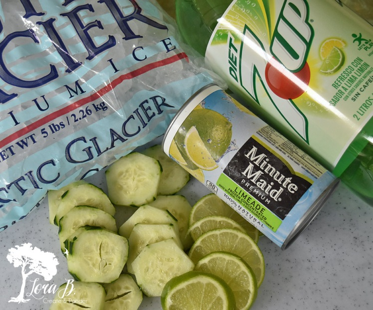 Cucumber Lime punch ingredients