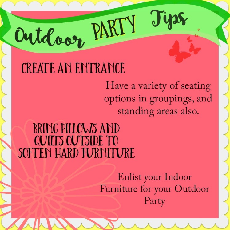 outdoor party tips