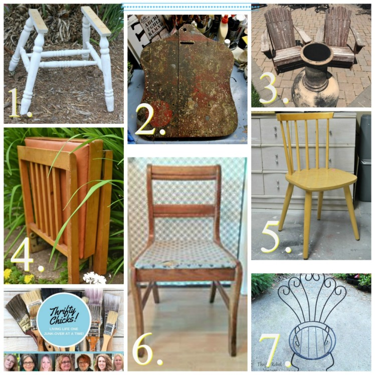 chair project collage