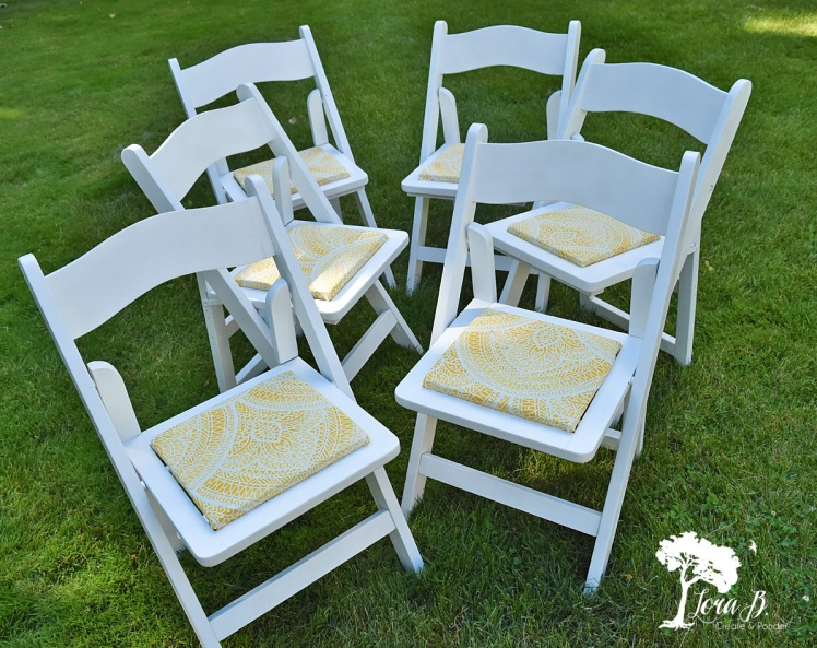 white party chairs