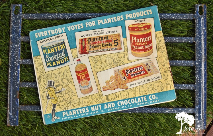 Planter's nuts advertisement