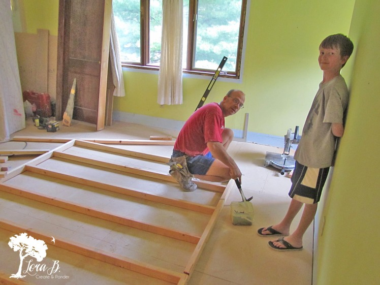 building a closet wall