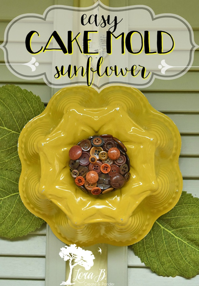 Cake Mold sunflower