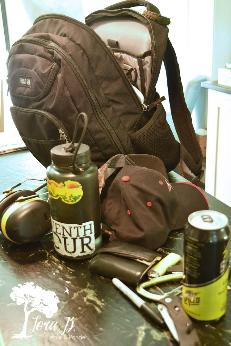 Boy's backpack.