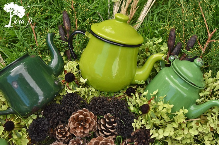 Vintage teapot collection