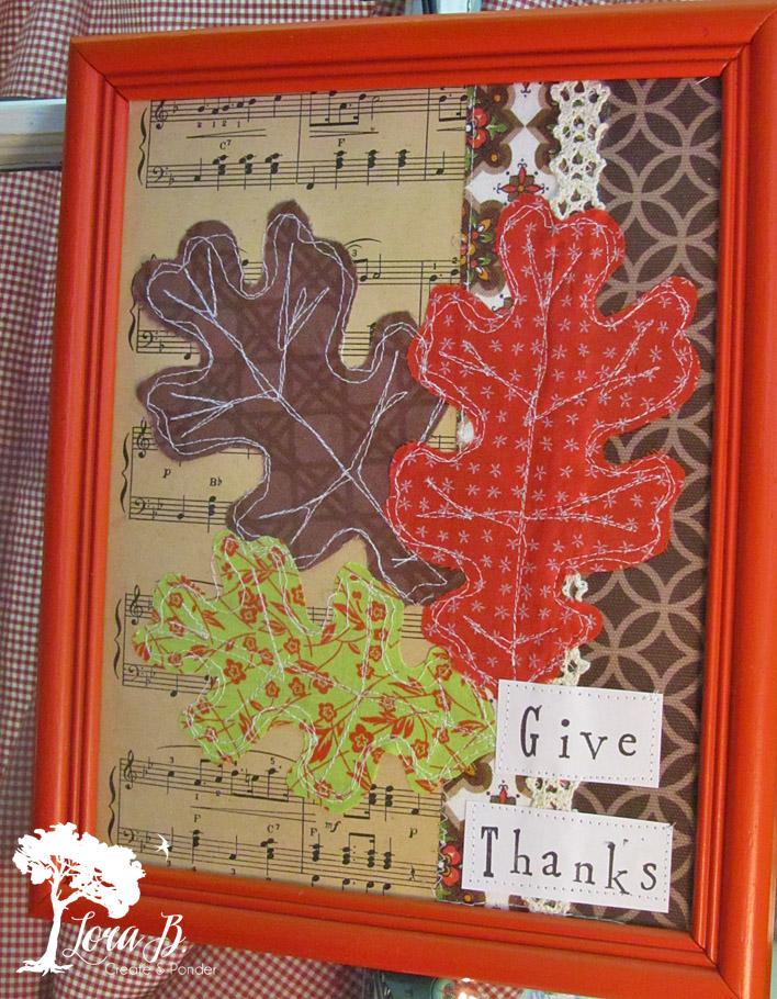 Thanksgiving Framed Art