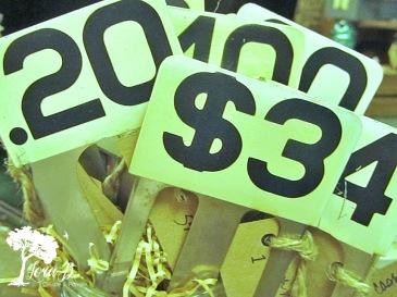 Cash Register vintage numbers