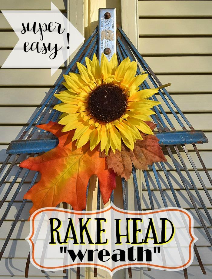 """Rake Head """"wreath"""""""