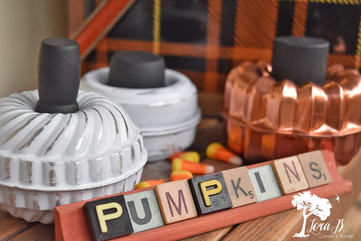 Tart Mold Pumpkins How-To