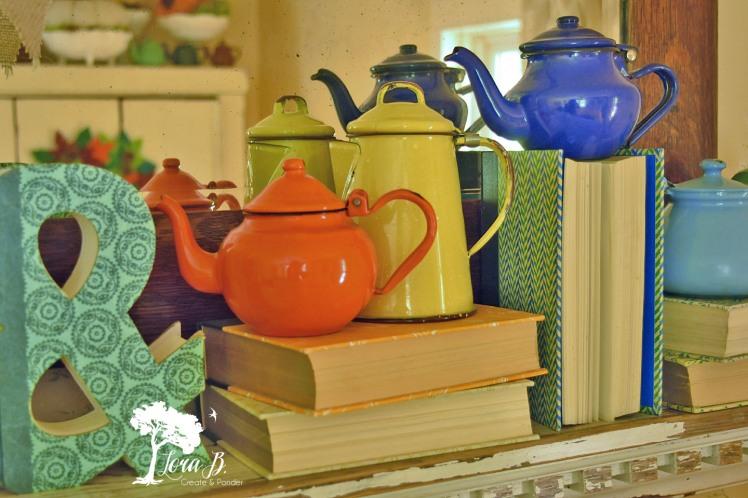 Enamelware Teapots