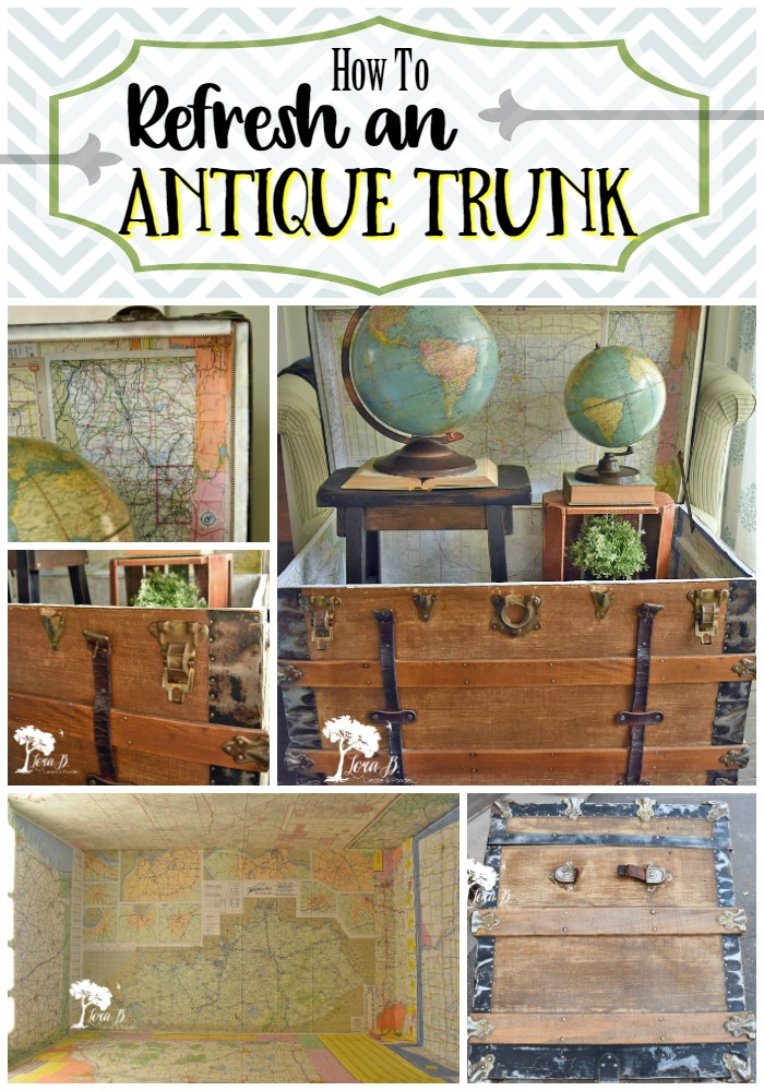 How to Refresh an Antique Trunk Pin