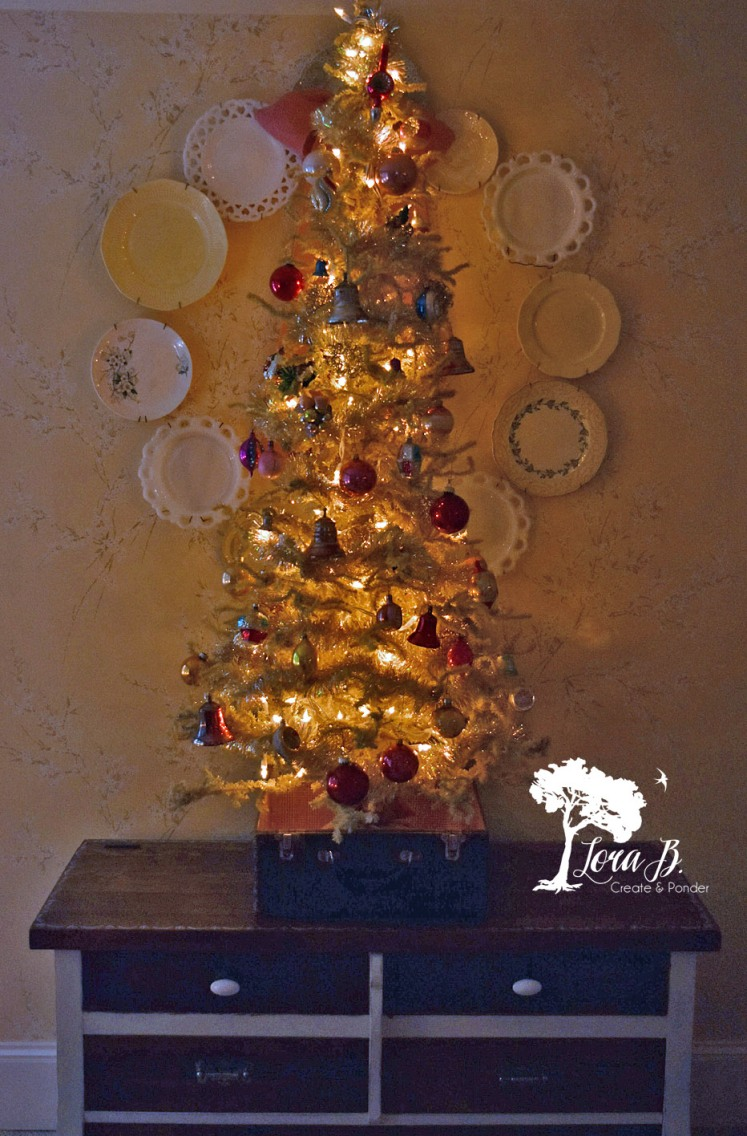 Shiny Brite Christmas Tree