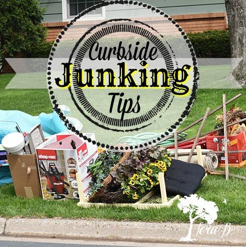 Curbside Junking Pile