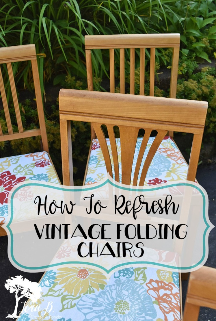 Leg-O-Matic Vintage Chairs, refreshed.
