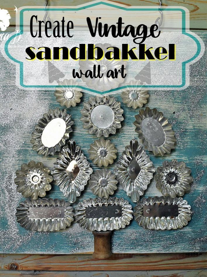 Sandbakkel wall art Pin