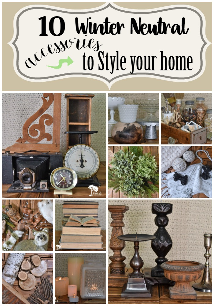 Winter neutral accessories to style your home