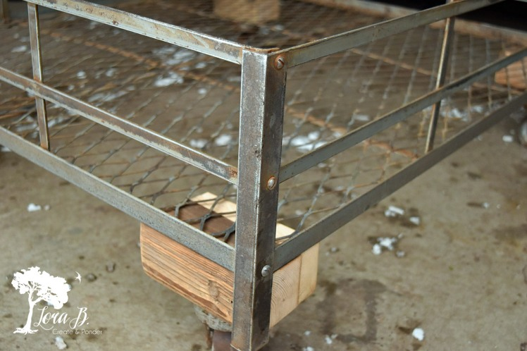 vintage roof rack coffee table